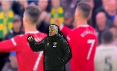 Ronaldo nuk përmbahet, tallet me taktikat e Solskjaer gjatë ndeshjes me Liverpoolin (VIDEO)