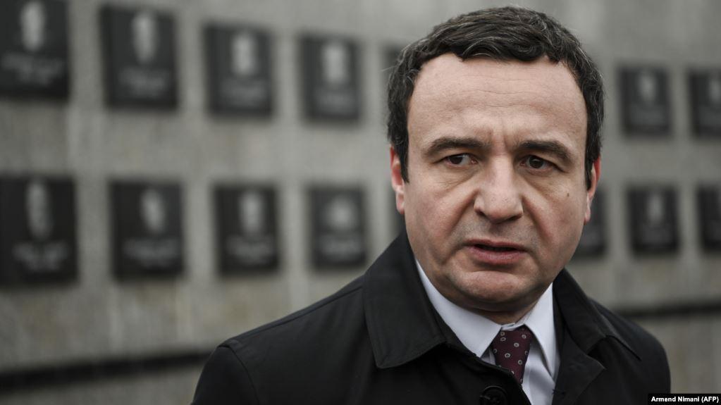 Kërcënohet kryeministri i Kosovës, Albin Kurti