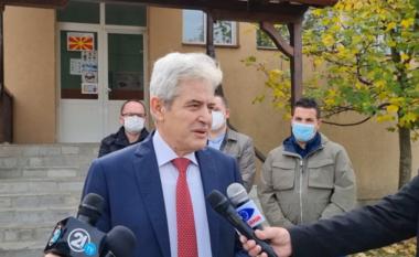Ali Ahmeti pas votimit: Nga këto zgjedhje varet edhe perspektiva evropiane e vendit