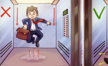 Këshilla që ju duhen me patjetër, si të dilni gjallë nga një ashensor që bie