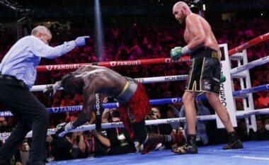 Tyson Fury mposht Wilder dhe mbron titullin e botës (VIDEO)