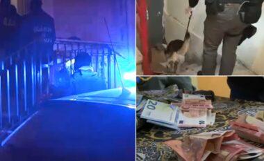 """""""Shkatërrohet"""" grupi i drogës në Itali, shqiptarët u sollën, kokainë, heroinë e kanabis (VIDEO)"""