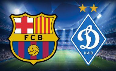CHAMPIONS/ Barcelona – Dynamo Kiev, statistikat dhe formacionet e mundshme (FOTO LAJM)