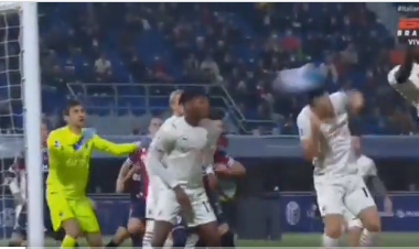 Befasohet Milani, Bologna me një lojtar më pak shënon dy herë për 3 minuta dhe barazon rezultatin (VIDEO)