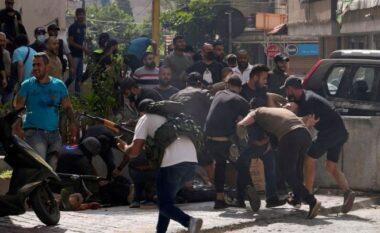 Po protestonin për shpërthimin që ndodhi në Liban vitin e shkuar, qëllohen për vdekje 6 persona dhe plagosen 30 të tjerë në Bejrut