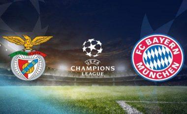 CHAMPIONS/ Benfica – Bayern Munich, statisktikat dhe formacionet e mundshme (FOTO LAJM)