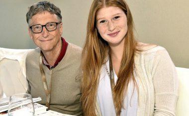 """Martohet vajza e Bill Gates, mediat e cilësojnë fustanin e bardhë """"një ëndërr"""" (FOTO LAJM)"""