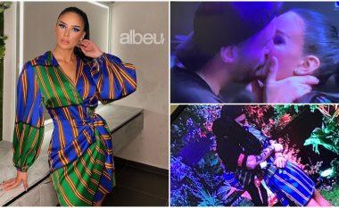 Po bën namin në rrjet, Bora Zemani reagon për herë të parë pas puthjes publike me Donaldin (VIDEO)