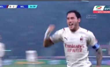 Milani dyfishon rezultatin ndaj Bolognas (VIDEO)