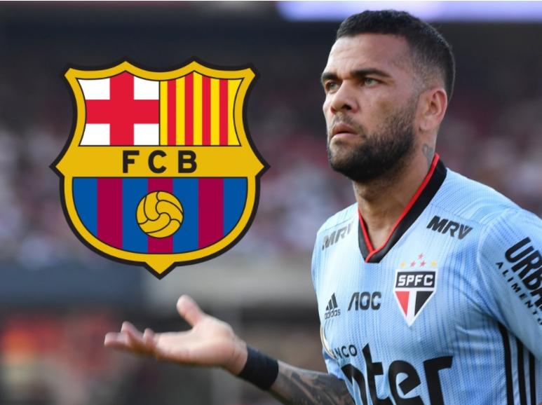 Barcelona i mbyll derën Dani Alves