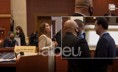 Sherr në Kuvend! Basha nuk përmbahet as ndaj Manastirliut, ngrihet dhe i rrëmben foltoren gjatë fjalës (VIDEO)