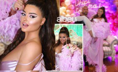 Festë në mesnatë në dhomën e hotelit, kush e surprizoi Encën në Dubai për ditëlindje (VIDEO)