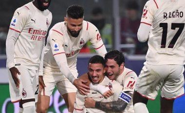 """Milani vuan ndaj Bolognas, """"kuqezinjtë"""" sigurojnë fitoren pasi kundërshtari ishte me 9 lojtarë (VIDEO)"""