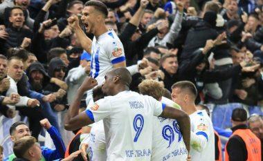 "Derbi ""vishet"" bardheblu, Tirana fiton me rezultatin minimal 1-0 (VIDEO)"