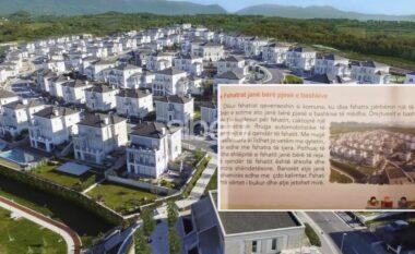 Skandal! Historia e klasës së katërt ilustron fshatin me lagjen e VIP-ave (FOTO LAJM)