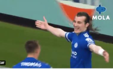 Licester City përmbys rezultatin përballë Manchester United (VIDEO)