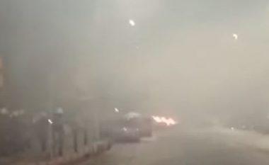 Sulmohet me bomba molotov konsullata turke në Selanik (VIDEO)