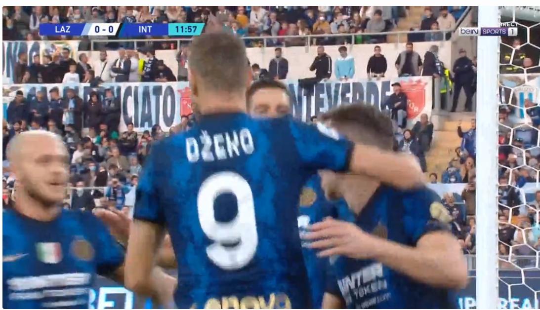 Hysaj shkakton penallti, Interi zhbllokon rezultatin përballë Lazios (VIDEO)