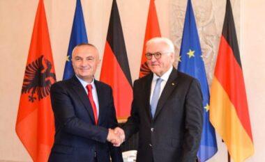 Ilir Meta uron presidentin gjerman për Ditën e Bashkimit të Gjermanisë