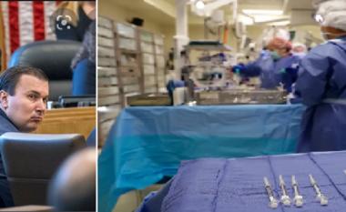 U injektoi ajër pas operacioneve në zemër, infermieri shpallet fajtor për vrasje