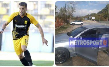 Gjendet i vdekur në makinë ylli i futbollit grek (FOTO+VIDEO)