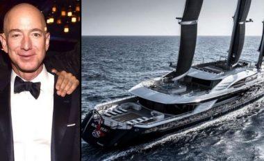 Brenda jahtit luksoz me vlerë 500 milion dollarë të Jeff Bezos (FOTO LAJM)