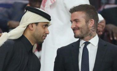"""David Beckham mbulohet me """"ar"""" për t'u bërë imazhi i Botërorit në Katar"""