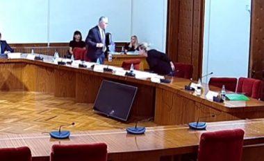 Komisioni Hetimor për zgjedhjet e 25 Prillit, PS braktis në mes mbledhjen