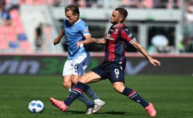 """Lazio e """"dehur"""" pas suksesit në derbi, """"turpërohet"""" nga Bologna (VIDEO)"""