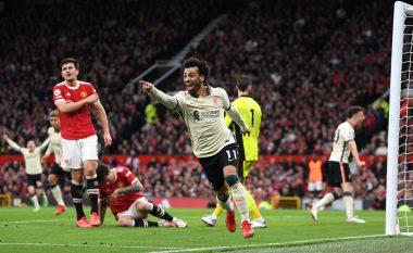 """Man United po jeton një """"ëndërr"""" të keqe, Liverpool i shënon """"poker"""" golash në pjesën e parë"""