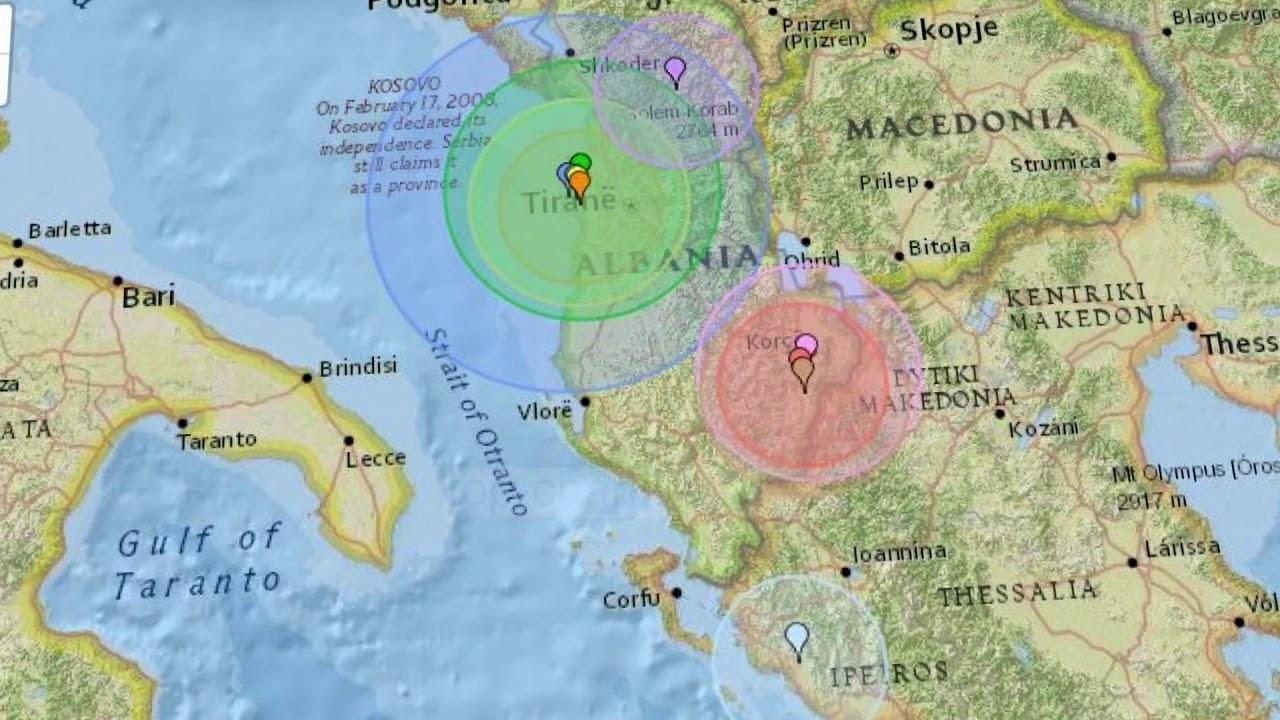 Shqipëria, vend me aktivitet të lartë sizmik: Cilat qytete janë më të rrezikuara nga tërmetet?