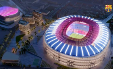 Super stadium, dalin pamjet e rinovimit të Camp Nou (VIDEO)