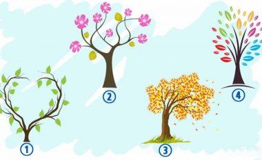 Cili emocion dominon jetën tuaj tani? Zgjidhni një pemë për ta zbuluar