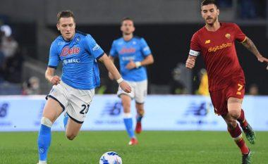 Napoli bën ndalesën e parë në Serie A, ndan pikët me Romën (VIDEO)