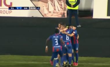 """""""Lumë"""" golash, Vllaznia triumfon ndaj Dinamos në """"Loro Boriçi"""" (VIDEO)"""