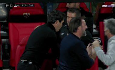 Falcao shënon, Rayo Vallecano kalon në avantazh ndaj Barcelonës (VIDEO)
