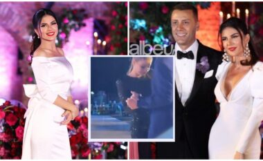 Vajza e Mark Frrokut në kërcim me vëllain e Rudinës, moderatorja publikon pamjet nga dasma (VIDEO)