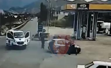 """""""Prej ditësh më ndjek një makinë"""", parandalohet vrasja, momenti kur policia shtrin në tokë autorët (VIDEO)"""