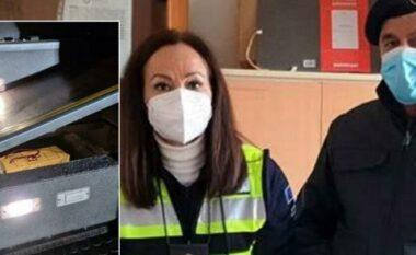 Të fshehura në shkallët e autobuzit, Policia i gjen shqiptarit 70 mijë euro (FOTO LAJM)