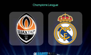 CHAMPIONS/ Shakhtar – Real Madrid, formacionet e mundshme (FOTO LAJM)