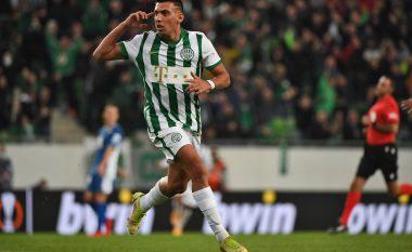 Uzuni nuk di të ndalet me Ferencvaros, shënon dopietë në Kupë