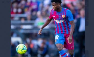 Frikë te Barcelona, Ansu Fati shfaqi probleme me gjurin