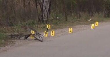 Viktima ishte duke lëvizur me biçikletë, pamje nga vrasja në Kosovë (FOTO LAJM)