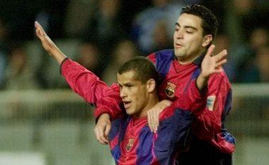 Rivaldo bën fushatë për Xavi Hernandez (FOTO LAJM)