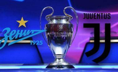 Formacionet zyrtare, Zenit-Juventus